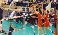 Latvijas volejbolisti ar drošu uzvaru uzsāk Eiropas čempionāta kvalifikācijas otro kārtu