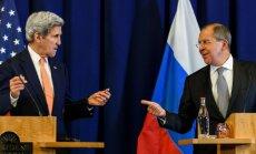 ASV pārtrauc sarunas ar Krieviju par pamiera atjaunošanu Sīrijā