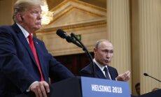 Krievijai nebija iemeslu iejaukties ASV prezidenta vēlēšanās, paziņo Tramps