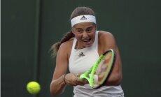 Ostapenko sasniedz prestižā Dohas WTA turnīra dubultspēļu pusfinālu