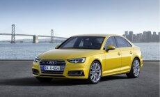 Jaunās paaudzes 'Audi A4' sedans un universālis