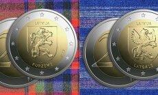 Foto: Laiž apgrozībā Kurzemei un Latgalei veltītas piemiņas monētas