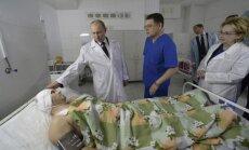 Volgogradas terorakti nav attaisnojami, vizītē pilsētā paziņo Putins