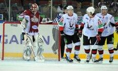 Rīgas 'Dinamo' piekāpjas vieniem no KHL līderiem 'Traktor'