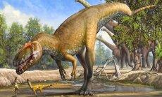 Atrasts lielākais Eiropā dzīvojušais dinozaurs
