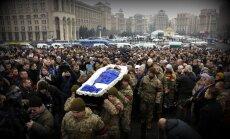 Karadarbībā pie Doņeckas pēdējā diennaktī krituši trīs Ukrainas karavīri