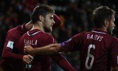 Latvijas futbola izlase nākamnedēļ tiksies ar PK dalībnieci Saūda Arābiju