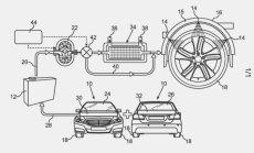 'Mercedes' izdomājis ar ūdeni gan sildīt, gan dzesēt auto riepas