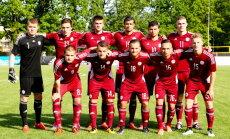 Latvijas U-21 futbolisti izcīna Baltijas kausu