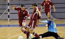 Latvijas telpu futbola izlase divās draudzības spēles Rīgā tiksies ar Igauniju