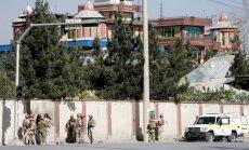 Kabulā džihādistu uzbrukumā telekanālam četri bojāgājušie