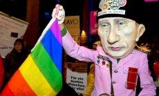 Gatavošanos Soču Olimpiādei aizēno homofobiska vardarbība, uzskata cilvēktiesību aizstāvji