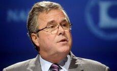 Iespējamais ASV prezidenta amata kandidāts Džebs Bušs paudis atbalstu lielākai ASV spēku klātbūtnei Baltijas valstīs