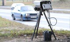Igaunijas policija nākamgad sāks izmantot mobilās ātruma kontroles kameras