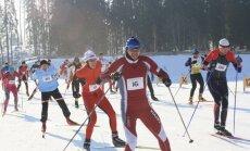 Smeceres silā darbojas slēpošanas trases vairāk nekā 20 kilometru garumā