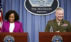 Triecienos Sīrijai veiksmīgi trāpīts mērķos, paziņo Pentagons