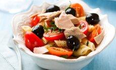 Makaronu un tunča salāti
