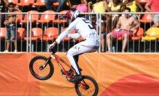 Četri Latvijas elites BMX sportisti pasaules ranga TOP 30
