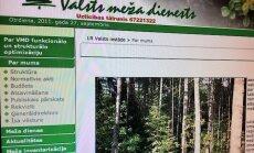 Kinnas laikmets Valsts meža dienestā beidzies: tālāk stūrēs virsmežzinis Krēsliņš