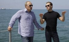 Medvedevs nepieļauj konkurenci ar Putinu 2018. gada vēlēšanās