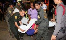Taizemes bankā, nejauši iedarbinot ugunsdzēšanas sistēmu, iet bojā astoņi cilvēki