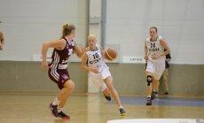 Latvijas basketbolistes Tallinā izcīna otro uzvaru Eiropas čempionāta atlases turnīrā