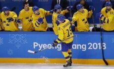 Kļūst zināmi olimpiskā hokeja turnīra vīriešiem izslēgšanas spēļu pāri