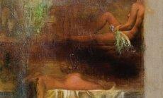 Atklās gleznotājas Gitas Šmites izstādi 'Pirtsmāksla'