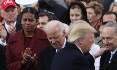 Выражение лица Мишель Обамы на инаугурации Трампа стало мемом