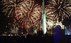 Ar svētku uguņošanu noslēdzas 9. maija pasākumi Rīgā. Teksta tiešraides arhīvs