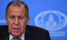 Lavrovs: ASV apmāca Eiropas valstis kodolieroču izmantošanā pret Krieviju