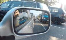 ES ministru sanāksmes dēļ pamatīgi ierobežo satiksmi; veidojas pirmie sastrēgumi