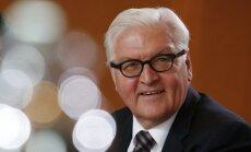 Vācijas valdošā koalīcija atbalsta Šteinmeieru kā nākamo valsts prezidentu