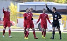 Futbola klubus 'Skonto' un 'Jūrmala' izslēdz no Latvijas futbola virslīgas