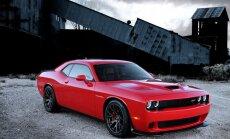 'Hellcat' versijas 'Challenger' muskuļauto ar vairāk nekā 600 ZS