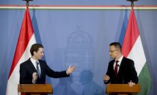 Abpusējā robežkontrole saasina Austrijas un Ungārijas attiecības