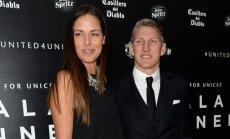 ВИДЕО: Футболист Швайнштайгер и теннисистка Иванович поженились
