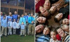 Семья из США, в которой 13 сыновей, ждет в мае 14-го ребенка