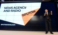 Latvija aptur Kremļa propagandas portāla 'Sputnik' darbību