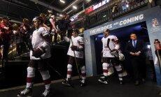 Latvijas hokejisti centīsies sarūgtināt zvaigžņoto Kanādas izlasi