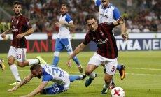 Milānā labots UEFA Eiropas līgas kvalifikācijas apmeklējuma rekords