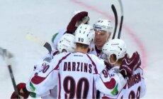 Rīgas 'Dinamo' uzvar 'Donbass' un pagarina sēriju