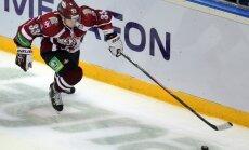 Rīgas 'Dinamo' spēlētājs Robinsons atzīts par KHL nedēļas labāko aizsargu