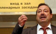 Krievijas Valsts dome atņem mandātu opozīcijas deputātam Gudkovam