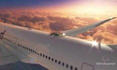 Stikla kabīne uz lidmašīnas jumta ļaus izbaudīt 360 grādu skatu virs mākoņiem