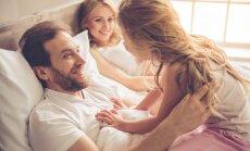 Vecāki vai mīlnieki? Kā rīkoties, ja jūs intīmā mirklī negaidīti pārsteidz bērns
