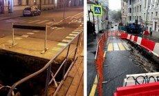 Почувствуй разницу! Движение пешеходов во время ремонта в Риге и других городах Европы