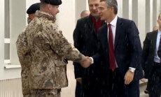 Video: NATO ģenerālsekretārs Stoltenbergs viesojas Ādažu bāzē