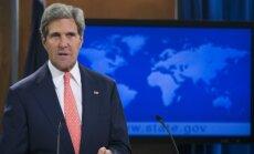 Sīrijas konflikts: Uzbrukumā pie Damaskas izmantota zarīna gāze, paziņo Kerijs