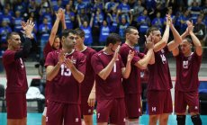Sorokins: Latvijas volejbola izlase bija uzvilkta, cīnījās, bet nesanāca
